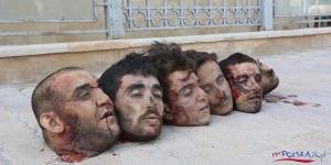IMAGEM 5 - AS SANGRENTAS BARBARIDADES DA ISIS